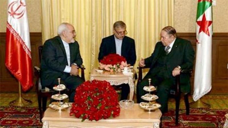 İran xarici işlər naziri Əlcəzair prezidenti ilə görüşüb