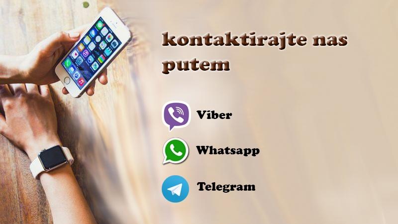 Viber, Whatsapp aplikacije
