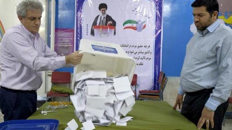 ایران: پولنگ کا وقت ختم  ووٹوں کی گنتی شروع