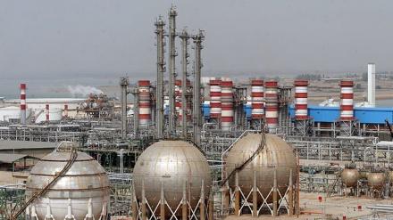 ایران کی پیٹروکیمکل مصنوعات کی پیداوار میں چار ملین ٹن کا اضافہ