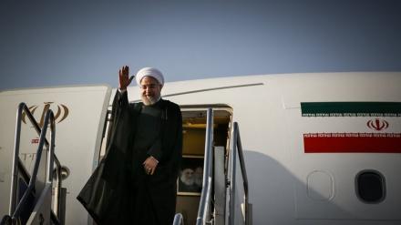 Ispraćaj iranskog predsjednika na turneju u tri zemlje jugoistočne Azije