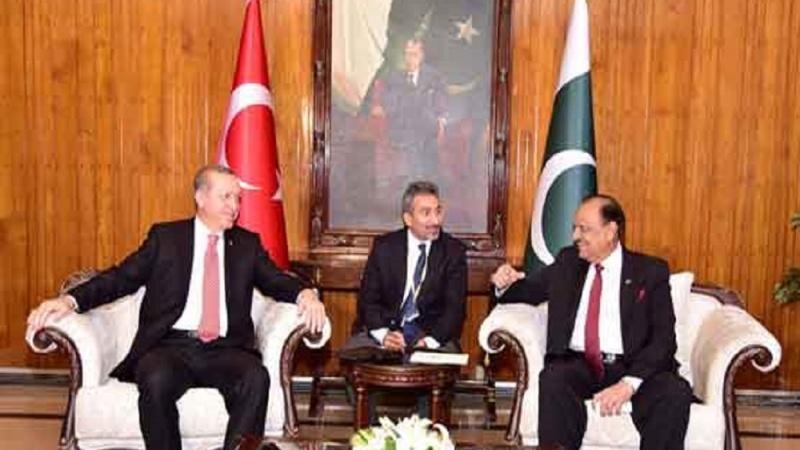 پاکستان کی قومی اسمبلی میں ترک صدر کا خطاب