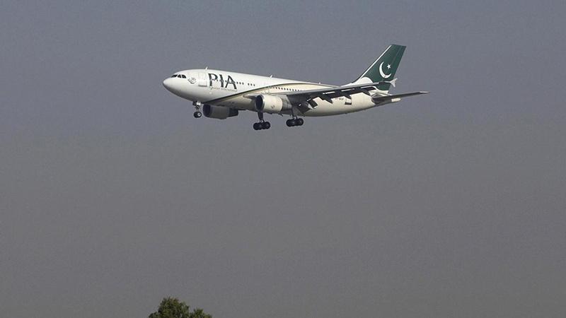 ایسے گرا پاکستانی ایئر لائن کا طیارہ ۔ ویڈیو