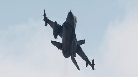 ادلب میں جبھۃ النصرہ دہشتگرد گروہ کے اسلحے کے گودام پر بمباری