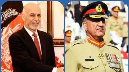 افغانستان میں بڑھی بد امنی کے دوران پاکستانی فوج کے سربراہ کا دورہ