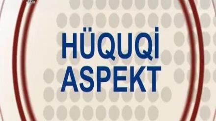 HÜQUQİ ASPEKT - 26-09-2017
