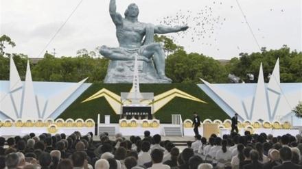بەرپاکرانی ڕێ و ڕەسمی یادمانی قوربانیانی بوردومانی ناڤۆکیی «ناکازاکی»ی ژاپۆن