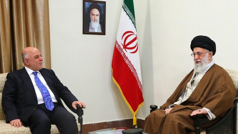 رهبر انقلاب اسلامی  سے عراق کے وزیر اعظم  کی ملاقات