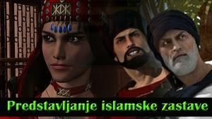 Predstavljanje islamske zastave