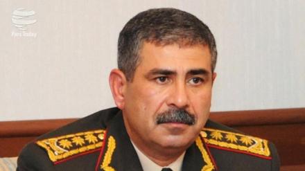Zakir Həsənov rusiyalı sülhməramlıların yeni komandanı ilə görüşüb
