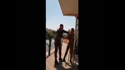 فلسطینی مجاہدین سے خوفزدہ اسرائیلی فوجی کا ویڈیو ضرور دیکھئیں