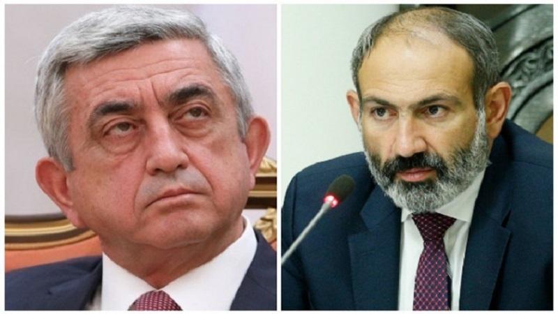 Sarkisyan ilə Paşinyan arasında