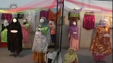 تاریخ میں ایرانی خواتین کے لباس - رنگ