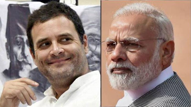 معاشی صورتحال پر راہل گاندھی کی مودی سرکار پر تنقید