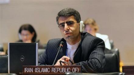 پابندیوں کا نشیڑی امریکہ انسانی حقوق کی دھجیاں اڑا رہا ہے: ایران