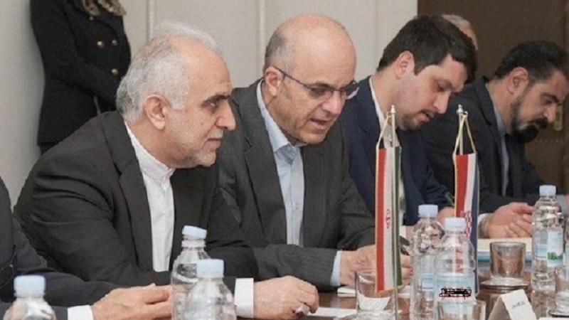 Iranski ministar ekonomije i financija Dejpasand u Hrvatskoj