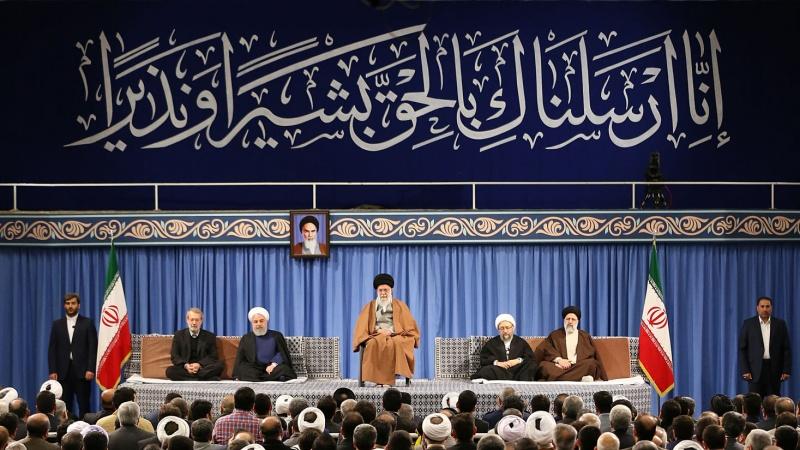 عید نبوت و رسالت کے موقع  پر رہبر انقلاب کا خطاب ۔ تصاویر