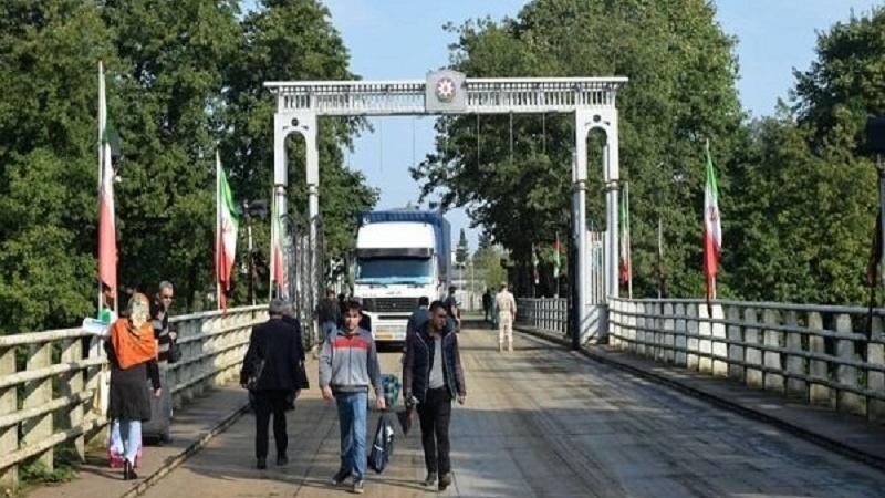 Azərbaycan R.-İran sərhədində yeni yol çəkilir