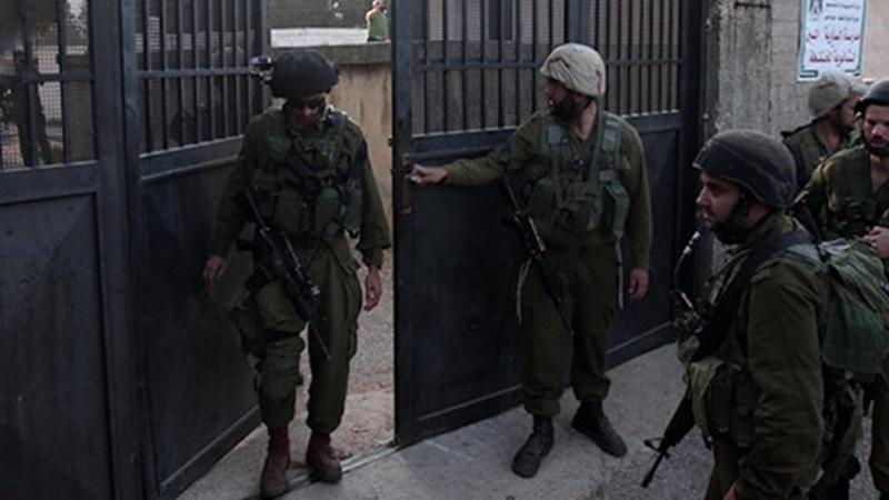 غرب اردن پر صیہونی فوجیوں کا حملہ
