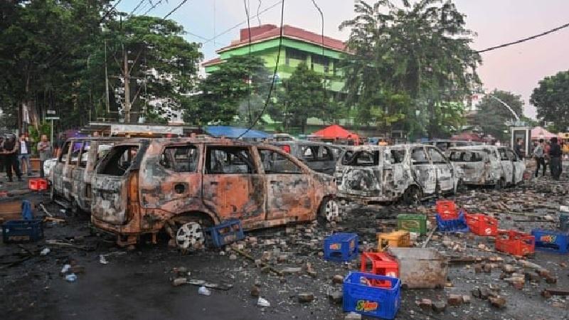انڈونیشیا میں الیکشن نتائج کے بعد ہنگامے 6 ہلاک