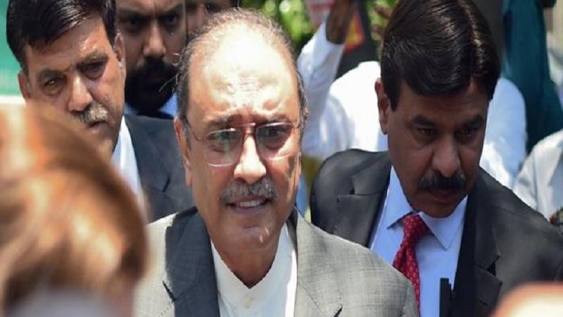 آصف علی زرداری کے خلاف ضمنی ریفرنس دائر