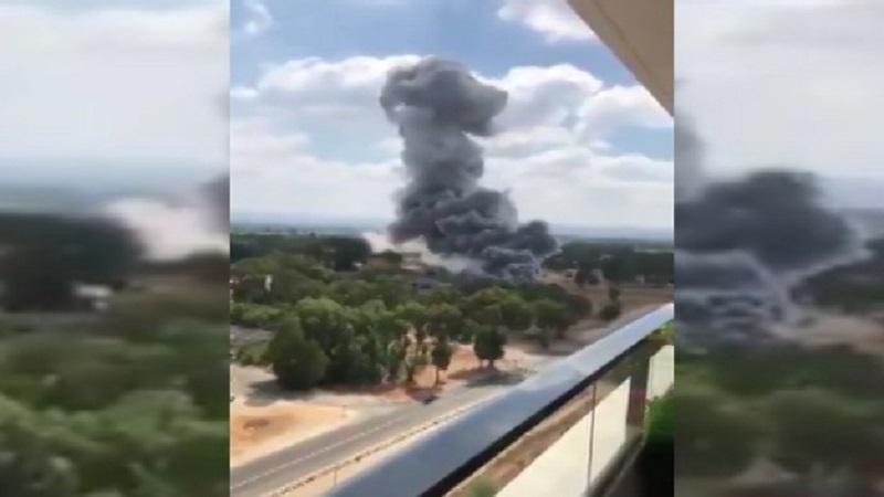 اسرائیلی ہتھیاروں کے کارخانے میں آتشزدگی