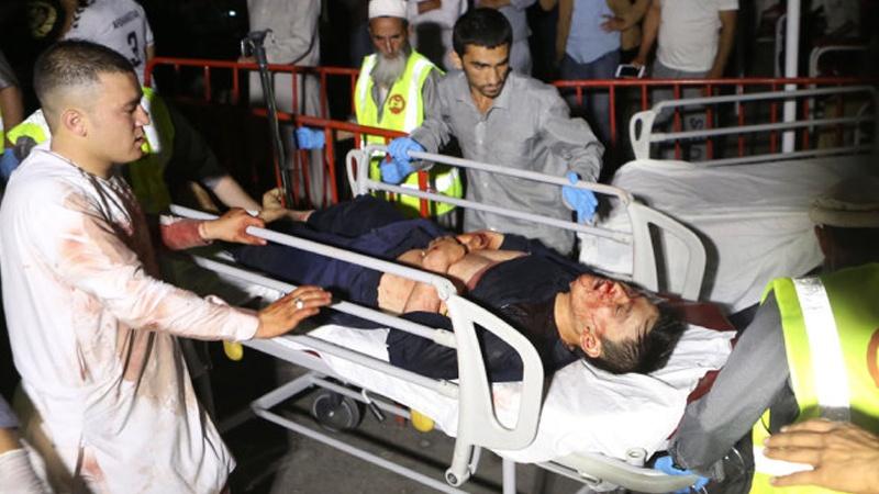 کابل میں شادی کی تقریب  میں خودکش دھماکہ 140 جاں بحق وزخمی