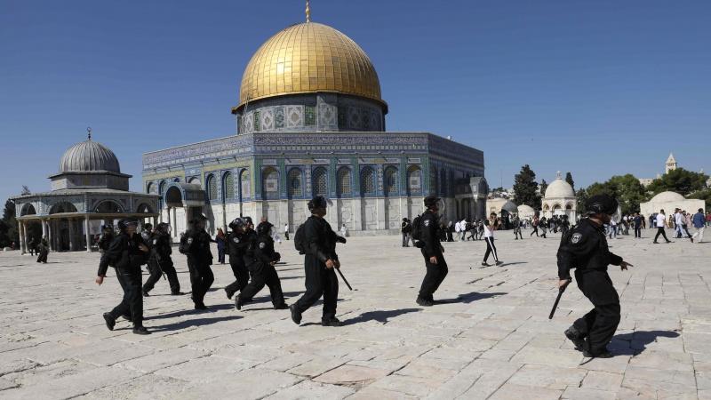 مسجد الاقصی پر صیہونی انتہا پسندوں کا حملہ
