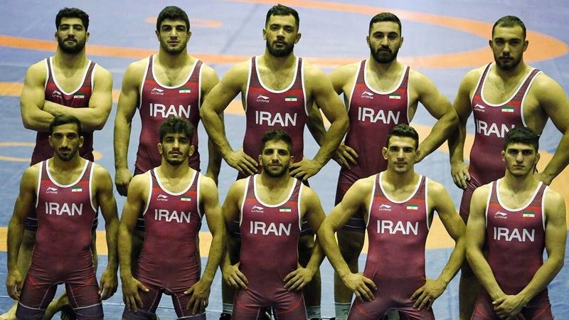 İranın sərbəst güləş üzrə olimpiya komandası dünya ikincisi olub