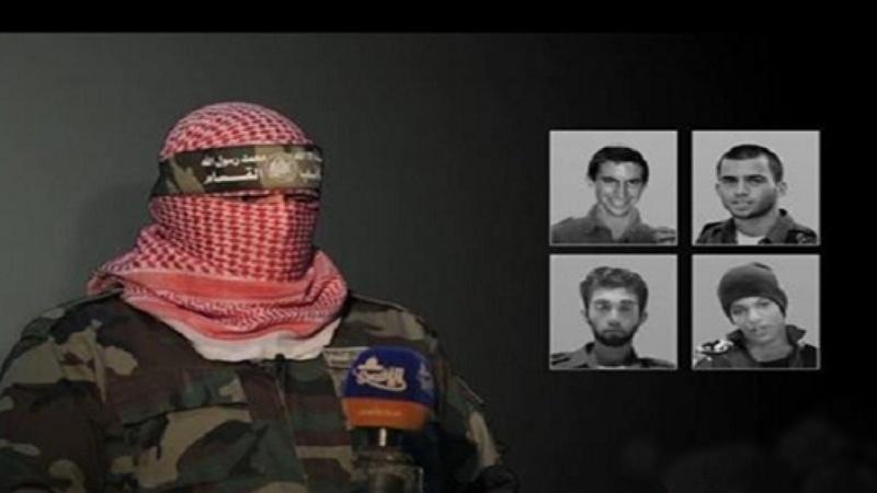 چار صیہونی قیدیوں کی تصویریں جاری کردی گئیں