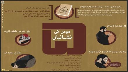 مومن کی علامتیں ۔ پوسٹر