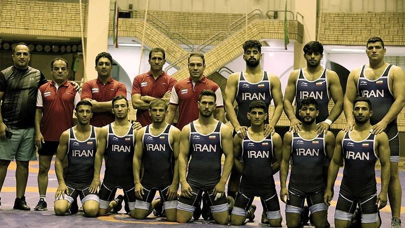 İranın Ümid güləşçilər komandası dünya çempionu olub