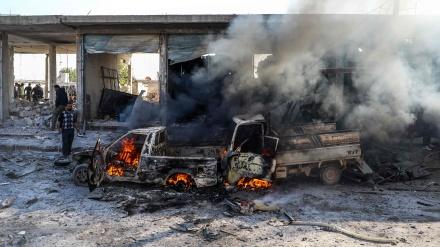 شام میں کار بم دھماکہ 11 جاں بحق و زخمی