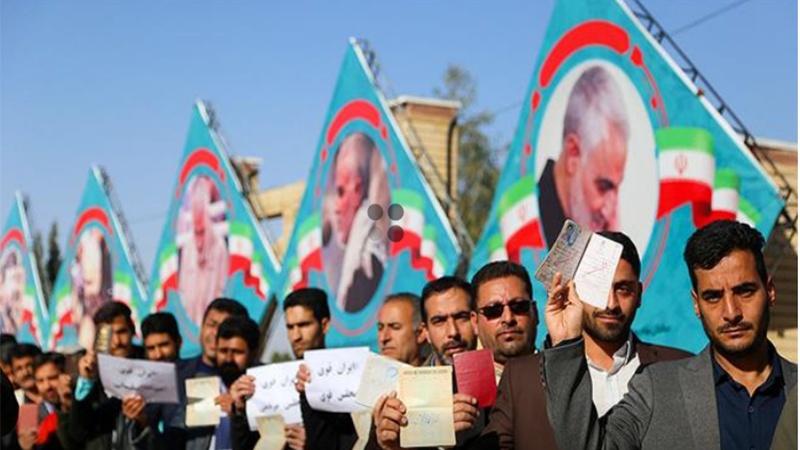 ایران کے پارلیمانی انتخابات میں عوام کی شاندار شرکت / تصاویر