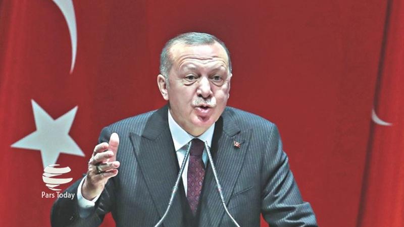 فلسطین پر امریکی پلان امن نہیں قبضے کا منصوبہ ہے: رجب طیب اردوغان
