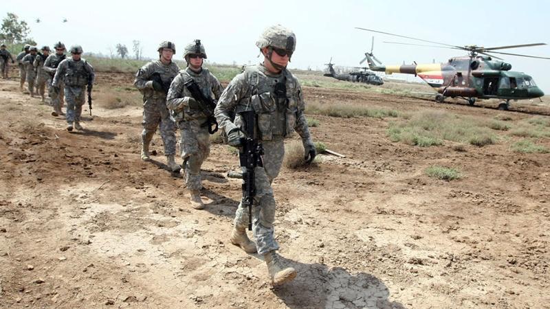 عراق سے فرانسیسی فوجیوں کا انخلاء