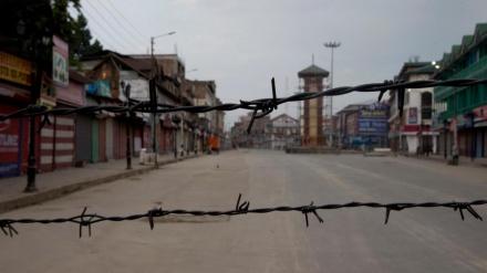 ہندوستان کے زیر انتظام کشمیر میں کرفیو، حالات کشیدہ