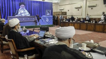 رہبرانقلاب اسلامی کے ساتھ عدلیہ کے اعلیٰ حکام کا اجلاس - تصاویر