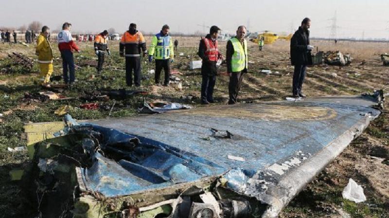یوکرینی طیارے کے بلیک باکس کی ڈی کوڈنگ کی تاریخ طے