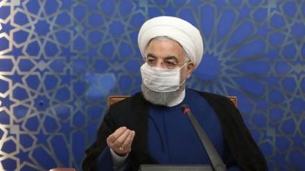امریکہ کے ساتھ اقتصادی جنگ میں ایران کامیاب رہا: صدر روحانی