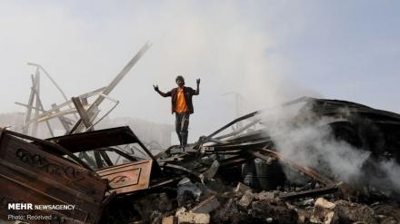 یمن؛ یہ نظارے روز کا معمول بن چکے ہیں ۔ تصاویر