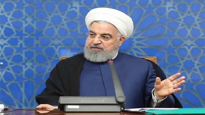 صدر روحانی کی وارننگ: امریکہ ایٹمی معاہدے کے خلاف سیاسی داؤ پیچ سے باز رہے