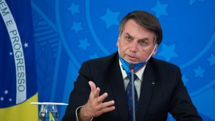 Braziliya prezidenti koronavirusa yoluxub