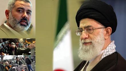 ایران فلسطین کے تئیں انسانی، اسلامی اور انقلابی فرائض انجام دیتا رہے گا: رہبر انقلاب اسلامی