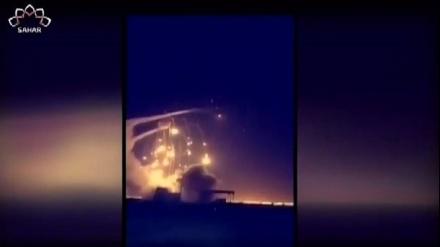 یمن کے جوابی اور میزائلی اور ڈرون حملے