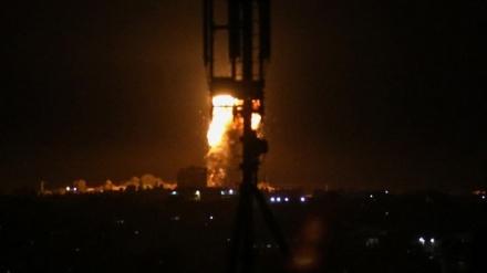 Cionistički režim ponovo izveo napad na Gazu