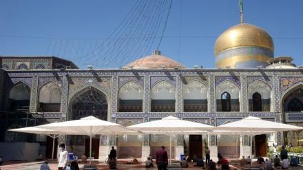 شمس الشموس کی بارگاہ میں سائباں نصب کر دئے گئے