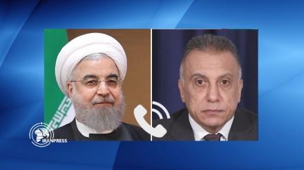 عراق کی سلامتی، ارضی سالمیت اور امن کو ایران بہت زیادہ اہمیت دیتا ہے: روحانی