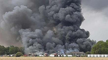مشرقی برطانیہ میں ہولناک دھماکا