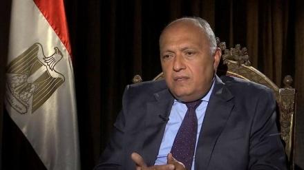 Wezîrê Derve yê Misrê:Insiyatîfa El-Qahîra çareseriya siyasî li Lîbyayê pêk tîne